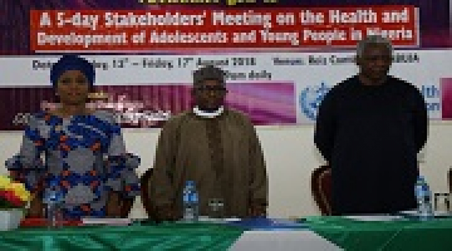 FG Strategises To Improve Health Of Young People