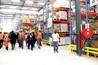 Minister Commissions Lagos Warehouse